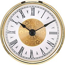 Hicarer 3-1/8 Inch (80 mm) Clock Insert with Roman