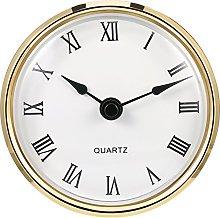 Hicarer 3-1/8 Inch (80 mm) Quartz Clock