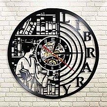 HIDFQY Quartz wall library clocks, acrylic