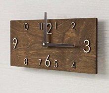 HIDFQY Retro creative rectangular wooden wall