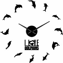 HIDFQY Wall Clocks, Delicate Wall Clocks Jumping