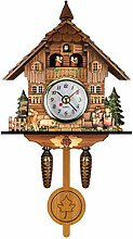 Hidyliu Cuckoo Clock Antique Wooden Cuckoo