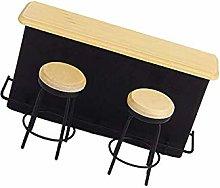 Hieefi Dollhouse Bar Counter 1/12 Dollhouse