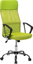 High Back Home Office Chair Mesh Faux Leather