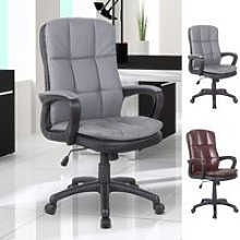 High Back Office Chair PU Leather Adjustable