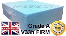High density firm upholstery foam 31x32x5