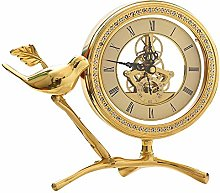 High-end Nordic Mantle Clock,Fireplace Clock Pure