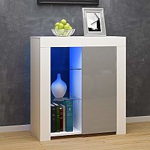 High Gloss Sideboard Cabinet Cupboard Storage
