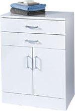 High Gloss White 'Trento' Bathroom Cabinet