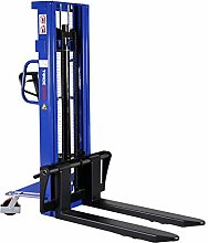 High lift truck Hand stacker with sliding forks