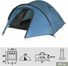 High Peak Nevada 3 Dome Tent Blue 3 Man Weather