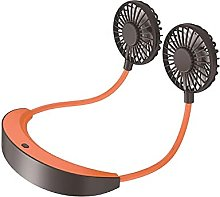 High Power Lazy Bed Neck Fan Adjustable 7-blade