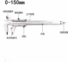 High Precision Vernier Caliper Steel Measurement