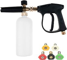 High Pressure Washer Gun with 5 Tip Water Nozzle