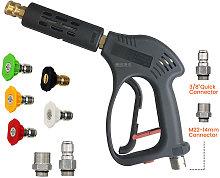 High Pressure Washing Gun 5000 PSI Replacement for