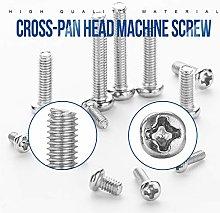 High quality 720pcs/set Cross Recessed Round Pan