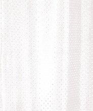 High Quality Fabric White Diamond Shower Curtain,