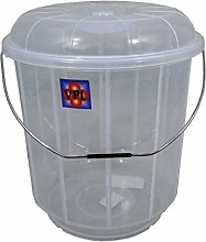 High Quality Large 20 Litre Clear Plastic Bucket