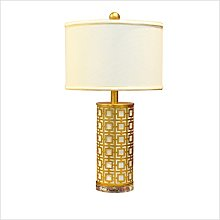 High Quality Table Lamp Simple Gold Alloy Living