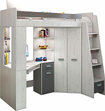 High Sleeper/Bunk Bed - ALL IN ONE Right or Left