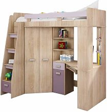 High Sleeper, Bunk Bed/Entresole. ALL IN ONE. Left
