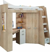 High Sleeper/Bunk Bed/Entresole - ALL IN ONE Right