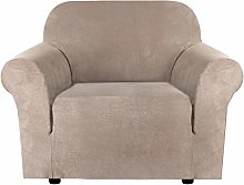 High Stretch Velvet Plush Sofa Cover Water