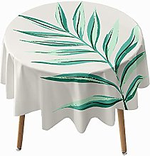 Highdi Round Tablecloth Wipe Clean, 3D Printed