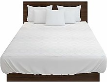 Highliving Quilted Mattress Protector Cover (4FT)