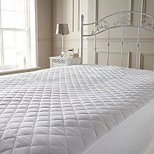 Highliving Quilted Mattress Protector Cover Topper