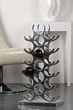 Hightower Stylish Wine Rack Stand In Aluminium
