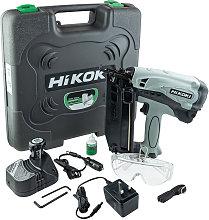 HiKOKI NT65GB Angled Gas Nail Gun with 2 x 1.5Ah