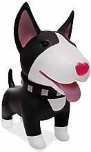 HIL Black Bull Terrier Piggy Bank Creativity PVC
