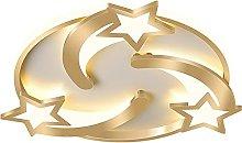 HIL Creativity Meteor Ceiling Light Golden Led