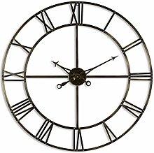Hill 1975 Antique Brass Large Skeleton Clock,