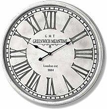 Hill 1975 Greenwich Wall Clock, Wood, Mixed, one