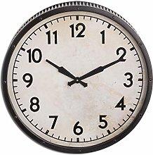 Hill 1975 Grey Drummer Clock, GLASS,METAL,