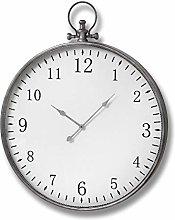 Hill 1975 Silver Pocket Watch Wall Clock, Mixed,