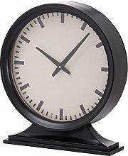 Hill 1975 Simple Black Mantel Clock,