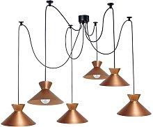 Hillyer 6-Light Shaded Chandelier Brayden Studio