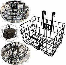 HilMe Bike Basket,Foldable Bicycle Basket with