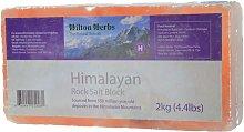 Hilton Herbs Salt Block (2kg) (May Vary)