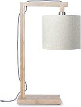 Himalaya 47cm Table Lamp Good&Mojo Shade Colour: