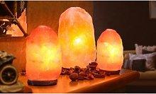 Himalayan Crystal Salt Lamp: M