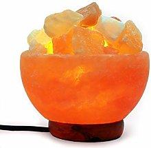 Himalayan Salt Lamp Crystal Light for Christmas