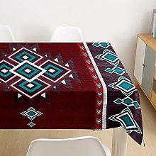 Himlaya Moroccan Style Tablecloth Rectangular Wipe