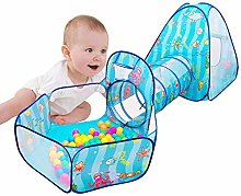 hinffinity Pop Up Children Play Tent With Crawl