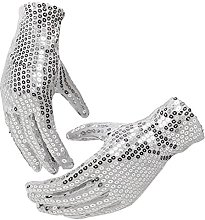 HINK-Home Wrist Gloves, Festival Sparkle Sequin