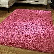 hink-louder Luxury Shaggy Rug Runner Non Shed