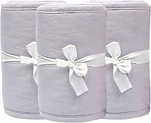 HINMAY Baby Bumper for Cribs, 3pcs/set Safe &
